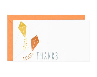 Kite Thank You Enclosure Gift Card