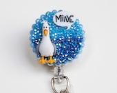 Disney Pixar's Finding Nemo Seagull ID Badge Reel - ID Badge Holder - Zipperedheart