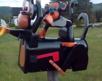 Monkey mail box and baby mailbox