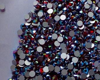 Light Siam Rhinestones Lyrical 48 pieces NON Hot Fix for Lyrical Dance, Bridal, Veils, Garters, Masks, Crafts