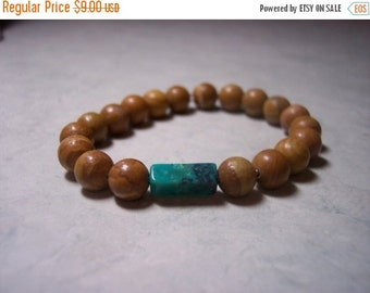 ON SALE Tiger Jasper with Turquoise-2
