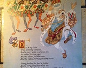 1981 Old King Cole and Ring the Bells, Ring Vintage Illustration