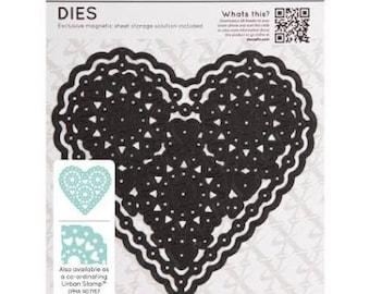 Xcut - Single Die - Filigree Hears