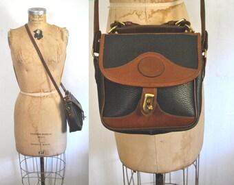 Dooney and Bourke Handbag Satchel / vintage 1980s