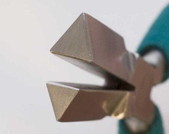 Wubbers Medium Triangle Mandrel pliers for jewelry makers