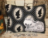 WITCHING YOU Pillow Cupboard Tuck Happy Halloween Shelf Sitter