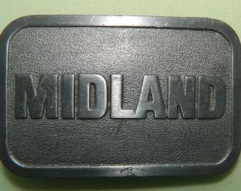 Midland Belt Buckle