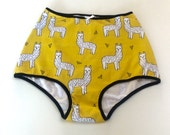 littlefour women's high waisted llama panties