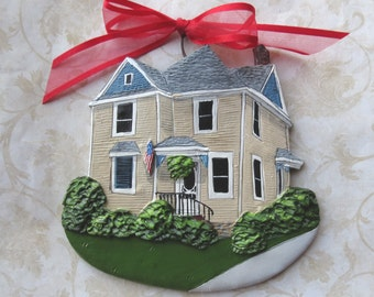 Custom listing for tiryakioglu-  one Custom House Ornament- a cherished keepsake of your home