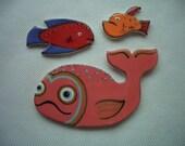 SALE PRICE - TRB - Adorable Fish - Ceramic Mosaic Tiles