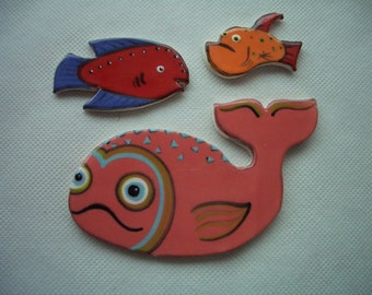 TRB - ADOREABLE FISH - Ceramic Mosaic Tiles