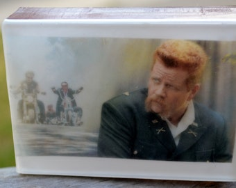 Walking Dead Graphic Art Soap Bar - Sgt. Abraham - Novelty Soap - AN AJSWEETSOAP EXCLUSIVE - Walking Dead - Abraham - Novelty Soap