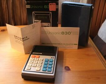 Vintage Unisonic 830 Digital Calculator
