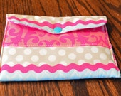 Essential Oil Travel Bag, Pink, Snap - TB1504
