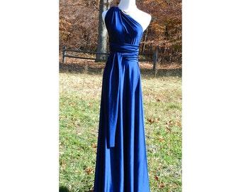 USA, Blue,   Convertible dress, inifinty dress, bridesmaids dress