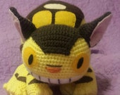My Neighbor Totoro inspired 20 inch Cat Bus Amigurumi