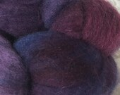 Hand dyed Polworth Top - 4 oz - Helen