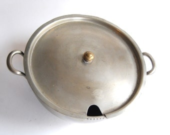 Vintage Grand Silver Co Wear Brite Covered Dish
