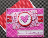 Valentine Gift Card Holder with Matching Embellished Envelope - Straight to the Heart