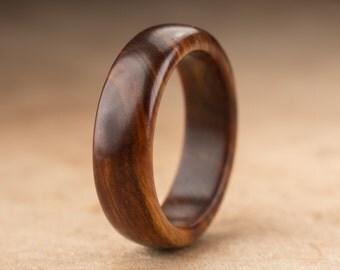 Size 10 - Guayacan Wood Ring No. 343