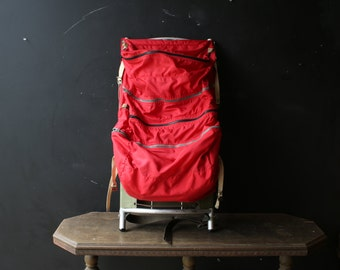 1980s Gerry Backpack in Red Lots of Pockets Vintage From Nowvintage on Etsy