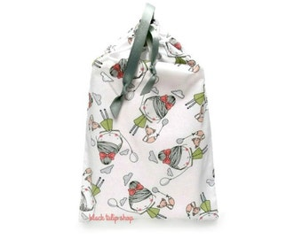 Planner Cover Planner Pouch Planner Carrying Case Happy Girl Fox Lightweight Drawstring Pouch Drawstring Planner