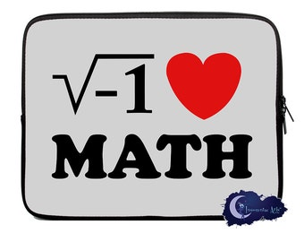 i Heart Math - Neoprene Tablet and Laptop Sleeves