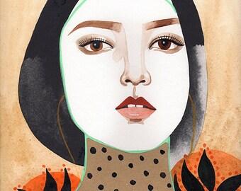 Ming / 8x11 inch print