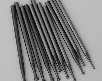 Swiss Style Cup Burs Great For Wire Rounding 12 Pc In Storage Pouch