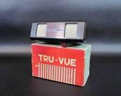 Vintage Tru-Vue Stereoscope with Original Box. Circa 1940's.
