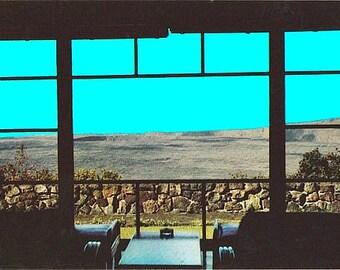 Vintage Hawaii Postcard - Kilauea Crater from the Volcano House Hotel, Hawaii Volcanoes National Park (Unused)