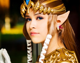 Elf Ears: Anime -- handmade, latex ear tips, great for cosplay, costumes, Link, Zelda, Halloween, Christmas