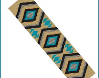 Chevron Southwest Rug Bracelet