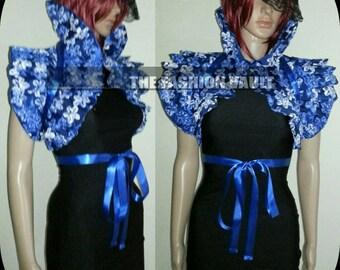 Cosplay Burlesque Wedding collar bolero wrap  Anime Costume
