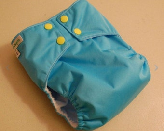 LuluBellDesigns SURPRISE All in One AIO Cloth Diaper Solids S M L