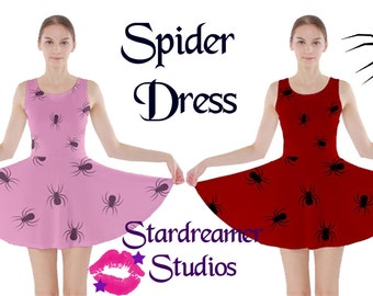 Spider Skater Dress Pre-Order