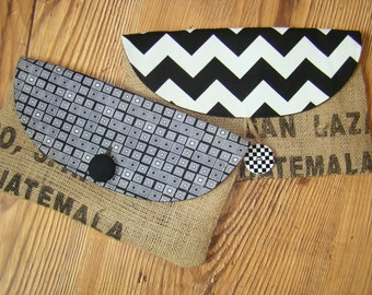 Clutch, Purse, Bag, Designed from Authentic Coffee Bean Bags
