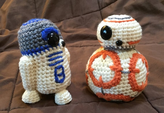 R2D2 and BB8 Crochet Patterns