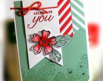 Stampin' Up Celebrate You Card