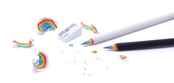 Rainbow Pencils from Duncan Shotton Design Studio