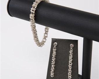 Sterling Silver Orbital Earrings