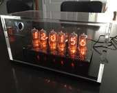 Back in Black - Beautiful NL840 Nixie Tube Clock with GPS Receiver and Orange LED lighting