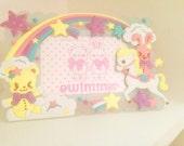 love japan kawaii frame unicorn fairy kei harajuku
