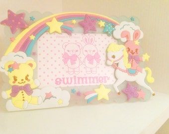 love japan kawaii frame unicorn fairy kei harajuku