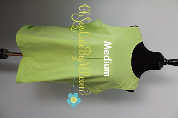 blank kiwi medium comfort colors tank top