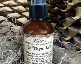 Rita's Le Thym Lait Kitch'n Witch'n Spiritual Mist Sprays, Release, Will Power, Success