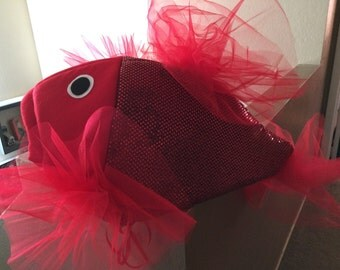 Red Beta Fish costume