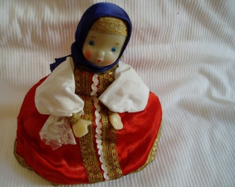 Vintage Russian Doll Teapot Cozy/Cosy