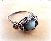 50% OFF SALE Wire Wrap Lesson Spiral Nest Ring Tutorial PDF