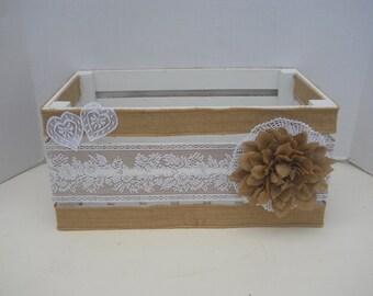 Wedding or Wedding Reception Card Box
